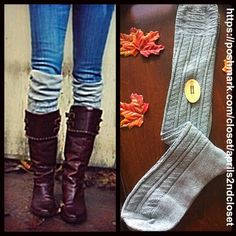 ❗️1-HOUR SALE❗️Over The Knee Boot Socks Thigh High NEW WITH TAGS Tall Over The Knee Boot Socks Thigh Highs  * Super soft & cozy, textured/ribbed fabric  * Over the knee length & thigh high w/snug ribbed cuffs to keep socks up.  * Tagged one size fits most  * Incredible quality.  Fabric: 98% Polyester & 2% Spandex Color: Grey 815000 ***The model is wearing a similar style for styling purposes only.  No Trades ✅Offers Considered*/Bundle Discounts✅ *Please use the 'offer' button to submit an…