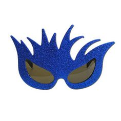 This pair of blue glitter splash fancy dress glasses will be a great addition to your party outfit. Fancy Dress Glasses, Blue Glitter, Party Supplies, Costumes, Party Items, Dress Up Clothes, Costume, Fancy Dress, Suits