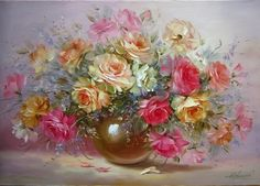 DIY-oil-paintings-flower-pictures-home-decorating-wall-art-arranged-in-the-canvas-digital-painting-of.jpg_640x640.jpg (640×460)