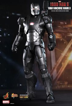 Hot Toys : Iron Man 3 - War Machine Mark II 1/6th scale Limited Edition Collectible Figurine