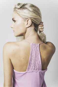 victoria lace trim sleep cami in peony available now @ marceau.com.au Pyjamas, Summer 2015, Peony, Lace Trim, Cami, Backless, Sleep, Victoria, Range