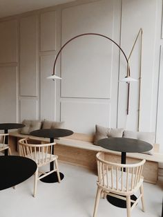 Modern boho home interiors and design ideas from the best in condos, penthouses and architecture. Plus the finest in home decor and products. Cafe Interior Design, Commercial Interior Design, Cafe Design, Commercial Interiors, Interior Design Inspiration, Interior Architecture, Design Ideas, Blog Design, Minimalist Architecture