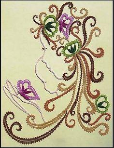Web Pics and Patterns - Blanca Torres - Picasa Web Albums Freeform Crochet, Crochet Art, Irish Crochet, Crochet Motif, Bobbin Lace Patterns, Tatting Patterns, Hand Embroidery Stitches, Machine Embroidery Patterns, Hobbies And Crafts