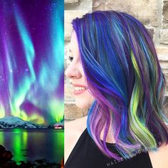 Another view of some #galaxyhair. Obsessed.