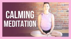 Guided Affirmation Meditation for Stress & Anxiety - CALMING Meditation Meditation For Anxiety, Healing Meditation, Daily Meditation, Meditation Practices, Meditation Youtube, Meditation For Beginners, Morning Yoga, 30 Day Challenge, Yoga Videos