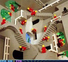 Lego Parallel Universe: MC Esher
