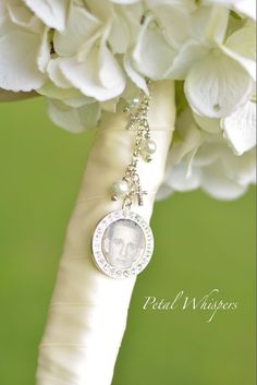 Wedding Bouquet Charm  Bridal Bouquet Charm  by PetalWhispers