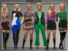 All About Style: Fall/ Winter 2015 Separates • Sims 4 Downloads