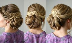 How To Do Looped Braid Updo | Beautiful DIY Hairstyles Step By Step