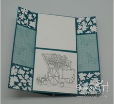 Stampin' Up! Stamping T! - Never Ending Card page 1
