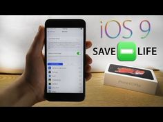 Save Battery Life in iOS 9 – Top 10 Tips & Tricks