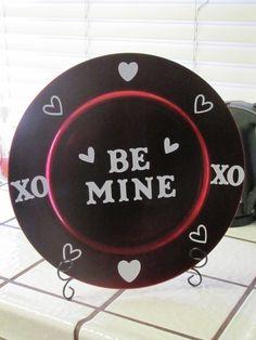 Cute Valentine's Plate