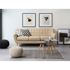 Velago Motala Tufted Sofa