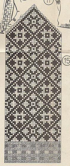 New Knitting Mittens Chart Cross Stitch Ideas Knitting Charts, Knitting Stitches, Knitting Designs, Knitting Socks, Knitting Needles, Knitting Patterns, Knitted Mittens Pattern, Crochet Mittens, Fair Isle Knitting