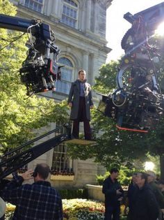 Set Photo from X-Men: Days of Future Past