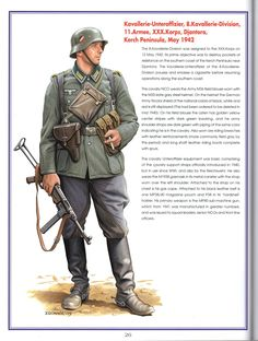 Cavalry officer Eastern front 1942