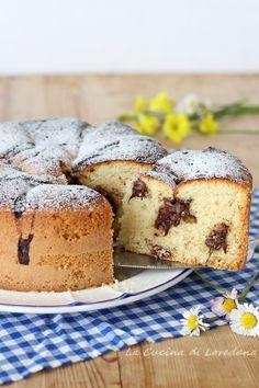 TORTA SOFFICE ALLA NUTELLA: la più buona e la più golosa #recipes #torta #dolci #breakfast