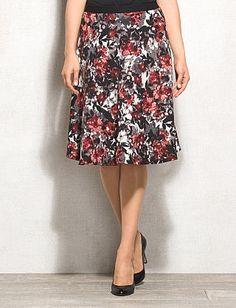 Size: XL *nikkieffinjones*  Rose Floral Skirt
