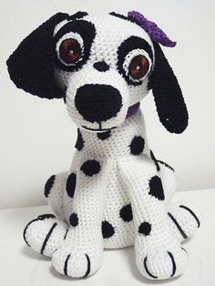 Pattern includes: - detailed instructions for crocheting - list of things what you will need - amounts of used material - a lot of images Pattern is written in US terminology. This toy has original eyes, you will need black craft felt, thread and needle. In pattern are instructions how