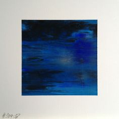 #304   square abstract painting (original)   acrylic on white board   size 9 cm x 9 cm   boardsize 15 cm x 15 cm   https://www.etsy.com/shop/quadrART