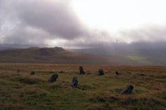 Beddarthur-stone-circile, burial sight of legendary King Arthur