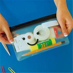 Милый Kawaii улыбка усы пвх мешок карандаша для студент творческий подарок школьные принадлежности бесплатная доставка 1101купить в магазине Stationery RetailнаAliExpress