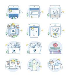Ios illustration set full list