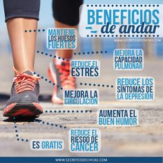 Beneficios de andar