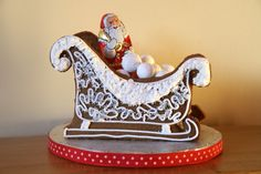 Image result for gingerbread sleigh