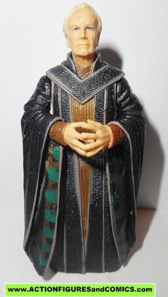 Hasbro / Kenner toys action figures for sale to buy STAR WARS attack of the clones aotc / saga 2002 SUPREME CHANCELLOR PALPATINE (The Emperor) 100% COMPLETE condition: Excellent figures approx. size: