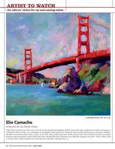 Plein Air: Pacific Northwest: THREE Elio Camacho workshops to chose from! (Yamhill, Columbia Gorge & Hillsboro, Oregon)
