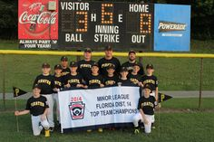 After winning 2014 AAA Top Team for the Windermere Little League baseball team, the WLL Pirates advanced to the District 14 Little League tournament. The Pirates easily captured the minor league top team championship, going undefeated at the district level against teams from Dr. Phillips, Ocoee, South Lake, Winter Garden and Windermere.