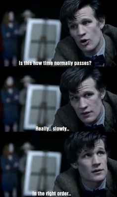 Truth about time. I love this part of 'Vincent and the Doctor' ...so funnyXD