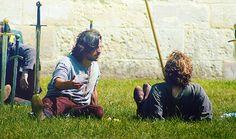Merlin - Behind The Scenes  Eoin Macken + Rupert Young