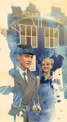 """""""Where shall we start?"""" Tom Hiddleston as the next Doctor & Carey Mulligan as companion Sally Sparrow. I wouldn't be mad at it. :)"""
