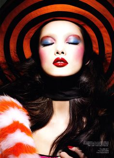 "Editorials: ""Colour Kaleidoscope"" - Fei Fei Sun by Raymond Meier"