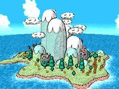 Bildresultat för yoshis island climates