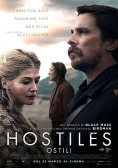 Hostiles, scheda del film di Scott Cooper, con Christian Bale, Rosamund Pike, Wes Studi, Ben Foster e Timothée Chalamet, leggi la trama e la recensione, guarda il trailer, ecco quando esce il film e dove vederlo al cinema.