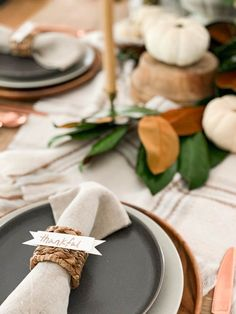 Easy Thanksgiving Place Card