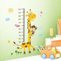 PVC-Sticker-Autocollant-Mur-Mural-girafe-Deco-Porte-Fenetre-Chambre-Enfant
