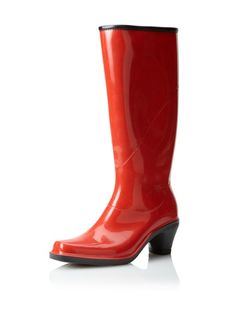c3bbba4f6 74% OFF däv Women s Fashion Rain Boot (Picnic Red) Love Fashion
