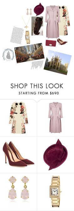 """Attend a Commemorative Service for the Florence Nightingale Foundation at Westminster Abbey"" by royaluk ❤ liked on Polyvore featuring Giambattista Valli, Alexander McQueen, Gianvito Rossi, Cartier, Prada, New, polyvorecommunity and royal"