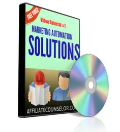 This video tutorial series about marketing automation solutions begins with the statistic that up to 98% of those who start an online home business give it up within three months.