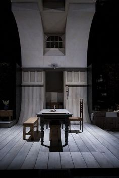 Miss Julie. Project Arts Centre, Dublin. Scenic and costume design by Joe Vaněk. 2008