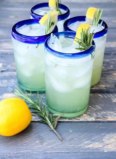 Simply Delicious Italian Herb Lemonade {perfect summer cocktail} | The Happy Housie Italian Cocktails, Summer Cocktails, Summer Recipes, Holiday Recipes, Lemonade Cocktail, Cocktail Recipes, Drink Recipes, Meals For The Week, Italian Recipes