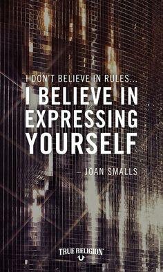 Joan Smalls x True Religion