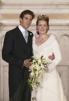 Lady Tamara Grosvenor  and Edward van Cutsem