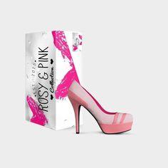 Platform Shoes, Italian Leather, Range, Lifestyle, Lady, Heels, Pink, Collection, Fashion