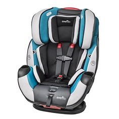 Convertible Evenflo Baby Car Seat Symphony DLX All-In-One Infant Toddler Modesto…