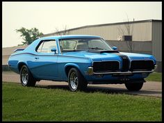 1970 Mercury Cougar 2-door hardtop with optional Eliminator package